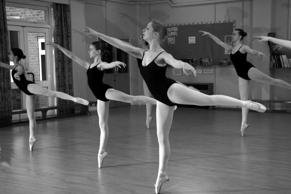 In abaresque Victoria Hill School of Ballet
